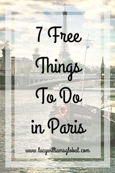 7 Free Things To Do in Paris #france #paris #europe