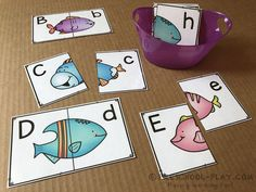 Printable Under the Sea math and literacy activities for preschool, pre-k, and kindergarten. Perfect for your ocean theme! Rainbow Fish Activities, Sea Activities, Classroom Activities, Preschool Activities, Cars Preschool, Preschool Centers, Montessori Classroom, Classroom Fun, Kindergarten Classroom