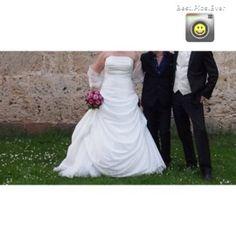 ♥ Brautkleid Nana Couture 42-44 in weiß ♥  Ansehen: http://www.brautboerse.de/brautkleid-verkaufen/brautkleid-nana-couture-42-44-in-weiss/   #Brautkleider #Hochzeit #Wedding