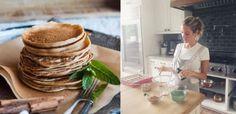 Cashew flour pancakes