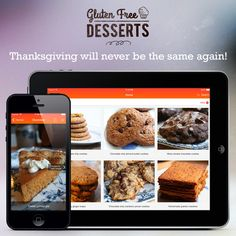 Gluten-Free Desserts the App! Special Limited-time Discount.
