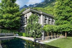 Survey of 7 amazing formal gardens. Garden design ideas. Landscaping at its best with manicured hedges and green lawns. Ideas for our house in Malibu.
