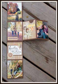 Barbara : Mini Album à Offrir. Album Photo Scrapbooking, Mini Albums Scrapbook, Diy Scrapbook, Diy Mini Album, Mini Album Tutorial, Fancy Fold Cards, Mini Books, Cardmaking, Paper Crafts