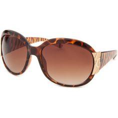 Guess Women's Oversized Tortoise Sunglasses (381986301)