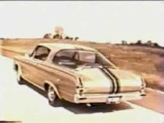 1966 Plymouth Barracuda car commercial.