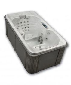 Indoor hot tub 2 person  Mini 2-3 person indoor spa hot tub with two long lounges, View 2 ...