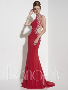 Panoply 14794 This jersey sheath gown invokes all the facets of allure; Prom Dresses 2016, Bridal Dresses, Formal Dresses, Panoply Dresses, Formal Wear, Ball Gowns, Tuxedos, Bridesmaids, Spring