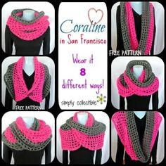 Coraline in San Francisco Cow Wrap ~ Simply Collectible-free pattern