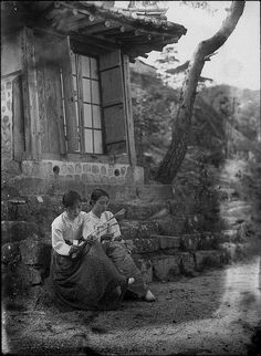 Korea Photo Boy Selling Candy 1910s