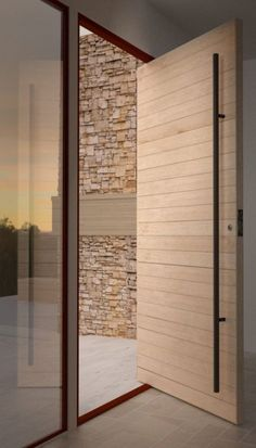 Wood Door Entrance Exterior 20 Ideas #exterior #wood #door