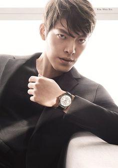 Kim Woo Bin para calvin-klein 2015 primera celebridad Coreana en ser elegido como modelo para Asia-Pacifico de Calvin Klein - Joyeria