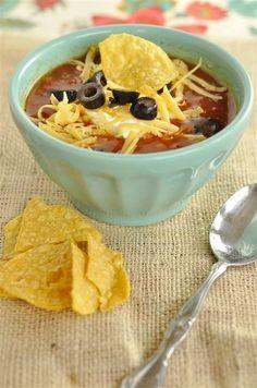 Crock Pot Tortilla Soup