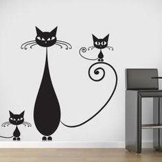 Vinilos Decorativos Familia de Gatos | Vinilos Decoración | Scoop.it