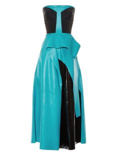 Wyman strapless leather dress | Roksanda | MATCHESFASHION.COM US