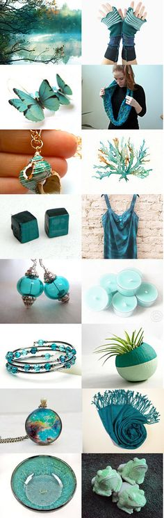 Teal Trends by Cassie on Etsy--Pinned with TreasuryPin.com
