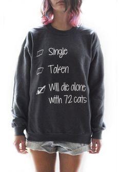 72 CATS sweatshirt