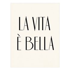 La vita è bella Italian Poster Print - Life is Beautiful