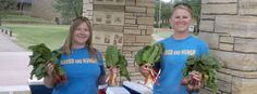 Students bring local foods from seed to market
