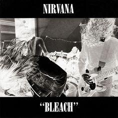 Sub Pop Records : Nirvana : Bleach LP