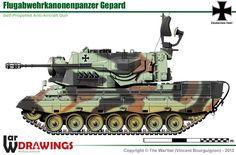 Flugabwehrkanonenpanzer Gepard