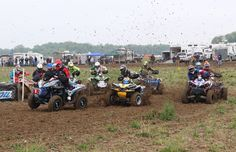 Can-Am 4x4 racers dominated round six of the GNCC racing series held in Indiana, notching three 1-2 finishes—including its fourth in the 4x4 Pro class this year—in three class and two podium sweeps in two other classes.