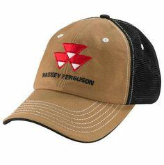 Massey Ferguson Logo Mesh Back Cap