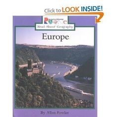 Europe (Rookie Read-About Geography): Allan Fowler: 9780516259819: Amazon.com: Books
