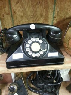 Rotary phone I saw today