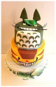 Totoro Cake Studio Ghibli. Hayao Miyazaki