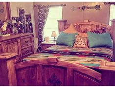 southwest rustic bedroom