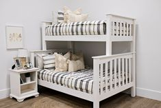 Styled for Bunk Beds – Beddy's Make Your Bed, How To Make Bed, Kid Beds, Bunk Beds, Floral Bedroom Decor, Beddys Bedding, Euro Pillow Covers, Zipper Bedding, Shared Bedrooms