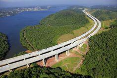 Rodoanel ring road around São Paulo, Brazil. Photo by Angular Fotos Aéreas