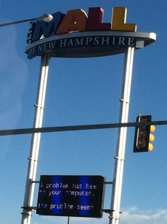 The Mall of New Hampshire #bsod #pbsod