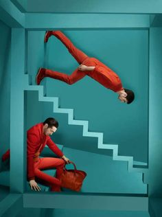 Surreal Gravity-Defying Photoshoots