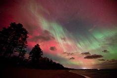 aurora borealis...