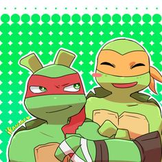 Raph and Mikey :)  Teenage Mutant Ninja Turtles TMNT