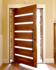 Pivot Door Gallery - PivotDoorCompany  Incorporate more natural lighting into your home with our elegant Lassen design.