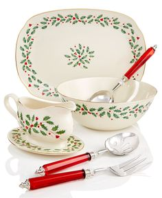 Lenox Holiday Serveware Collection - Serveware - Dining & Entertaining - Macy's