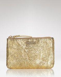 gold clutch #gold