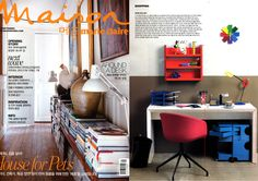 BOBY Trolley #design by Joe Colombo in 1970 introduced by Marie Claire Maison in September 2013 issue...