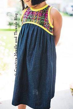 Blue Ridge Dress PDF Sewing Pattern by hellohollipatterns on Etsy