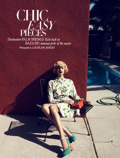 EDITORIAL  BETTE FRANKE BY LACHLAN BAILEY FOR HARPER'S BAZAAR US FEBRUARY 2012
