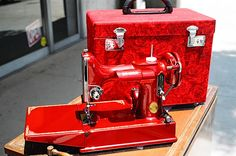 Candy Apple Red Singer 221   Flickr - Photo Sharing!