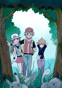 Cerk-tan, Kyle and me. Pokemon Mew, Green Pokemon, Pokemon Manga, Pokemon Ships, Pokemon Comics, Pokemon Fan Art, Pikachu, Pokemon Images, Pokemon Pictures