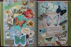 Butterflies in the Pretty Pink book