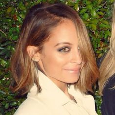 If i ever went brunette, I'd want it to look this this!