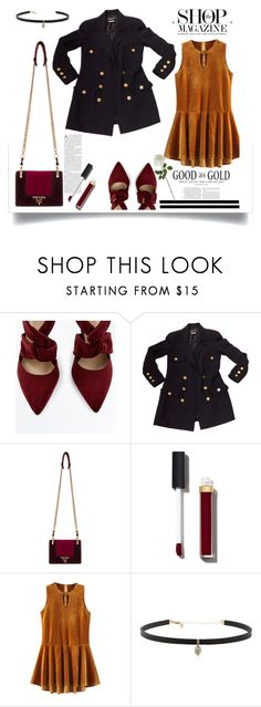 """""""Velvet"""" by pampipampita ❤ liked on Polyvore featuring Chanel, Prada, Carbon & Hyde, girly, fabulous and velvet"""