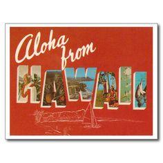 Hawaï vintage