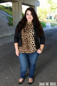 Moda gorditas curvy girls leopard prints Ideas for 2019 Plus Size Fall, Look Plus Size, Curvy Plus Size, Plus Size Women, Curvy Girl Fashion, Plus Size Fashion, Sarah Rae, Plus Size Clothing Stores, Stylish Plus