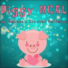 Come join the free piggy mystery crochet along! You can find the clues on Ravelry, in my Ravelry Group, on my Facebook page, and on Instagram. The Piggy MCAL begins May 7th, 2017.